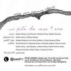 Apresentação de Quatro Peixes | Grupo de Estudos e Criação Literária: Ana Rüsche, Maiara Gouveia e Roberta Ferraz