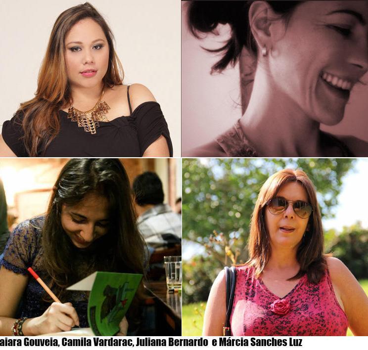 Seleção de mulheres escritoras, por Rubens Jardim