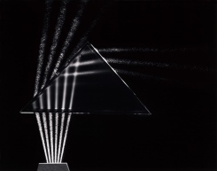 BERENICE ABBOTT | light passes through prism